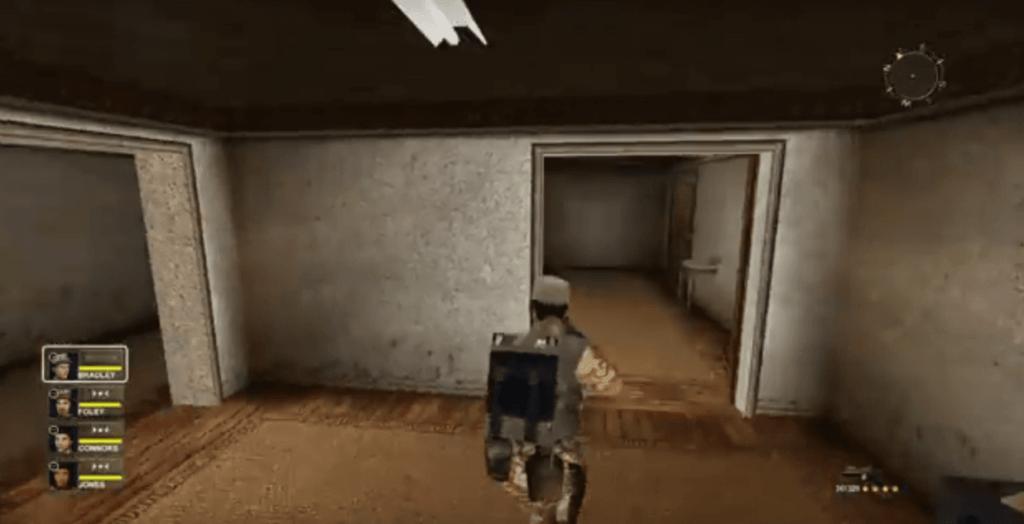 لعبة عاصفة الصحراء بها المؤثرات الصوتية مميزة وممتعة وتشعر بأجواء الحرب