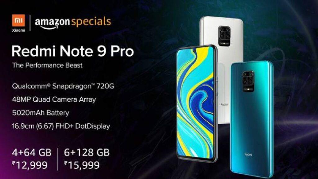 سعر هاتف Xiaomi Redmi Note 9 Pro قى متجر الامازون