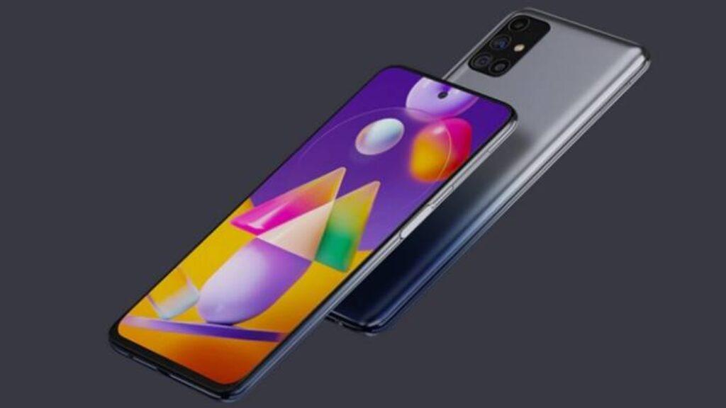 اطار هاتف ظهر موبايل Samsung Galaxy M31s