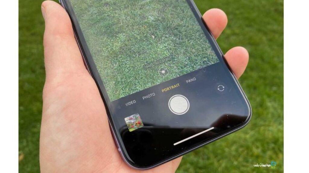 جودة الكاميرا الخلفية لموبايل ايفون 11