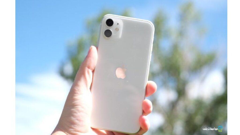 الكاميرا الخلفية لموبايل Apple iPhone 11