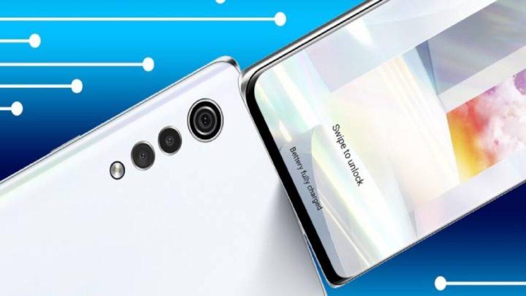 الكاميرا الخلفية ثلاثية لموبايل تصميم هاتف Lg Velvet