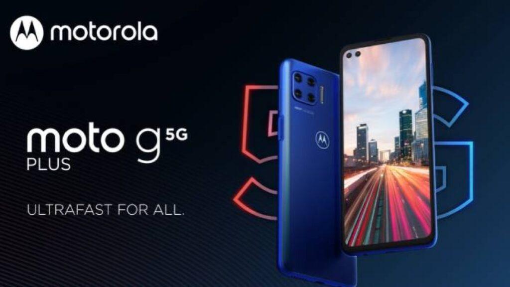 هاتف Motorola Moto G 5g Plus يدعم شبكة 5 جى