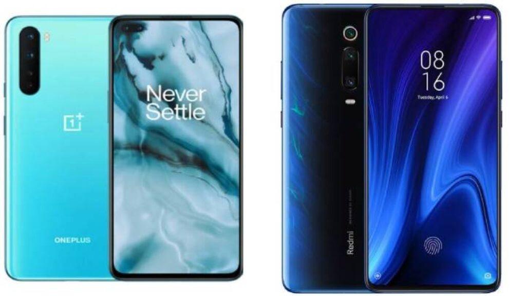 مقارنة السعر والمواصفات بين هاتف Oneplus Nord وXiaomi Redmi K20 Pro