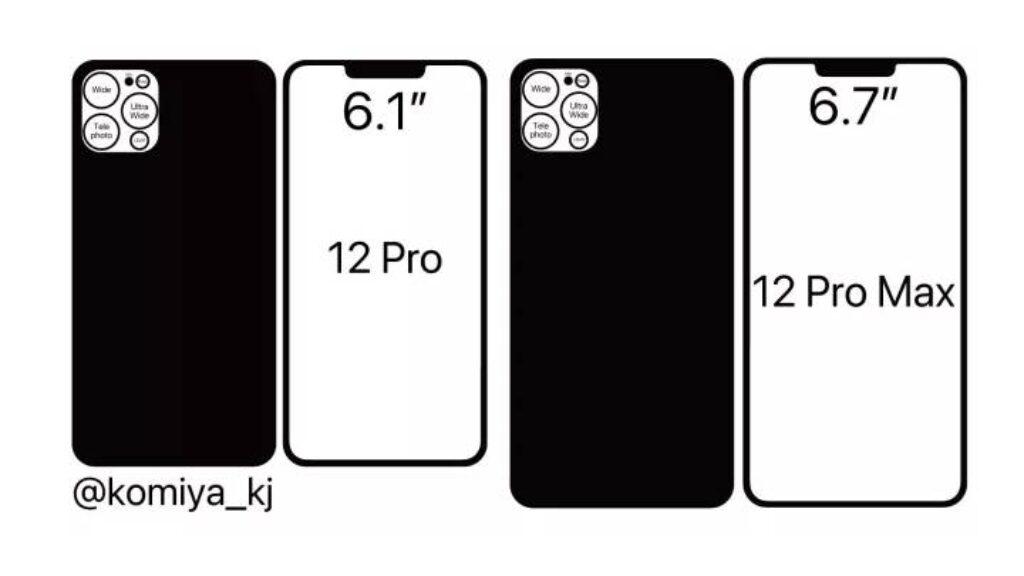 التصميم النهانى لهاتف Apple iPhone 12 Pro وApple Iphone 12 Pro Max