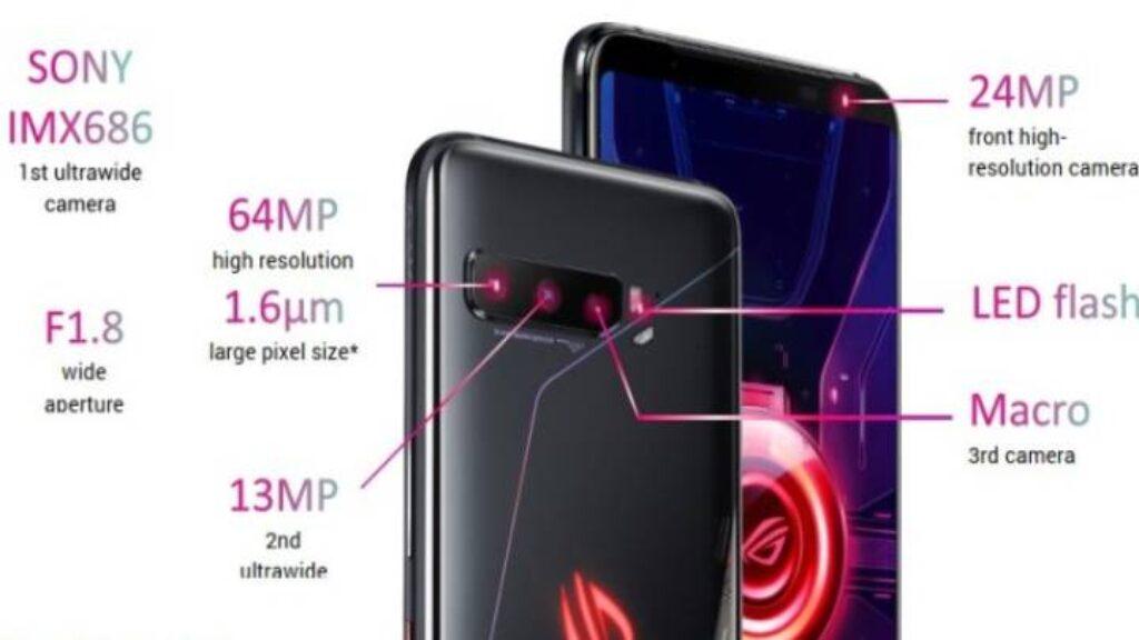 مواصفات موبايل Asus ROG Phone 3 Strix