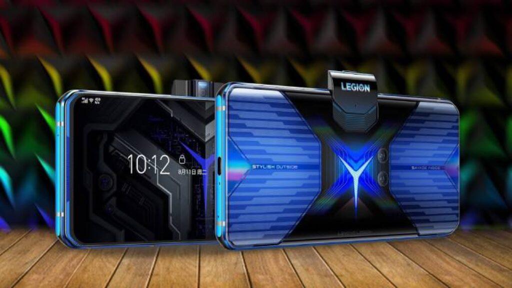تصميم هاتف الجرافيك موبايل Lenovo Legion Phone Duel عالى الجودة