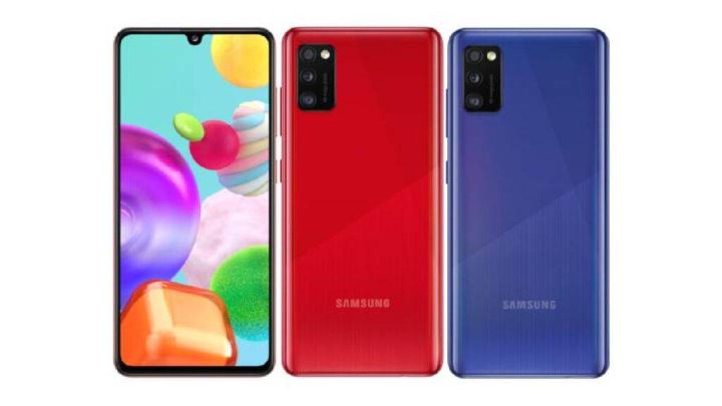 الكاميرا الخلفية والامامية لموبايل Samsung Galaxy A42