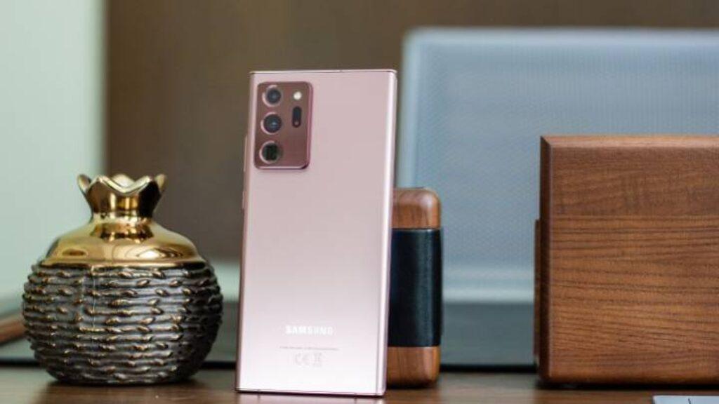 الكاميرا الخلفية ثلاثية لموبايل Samsung Galaxy Note20 Ultra