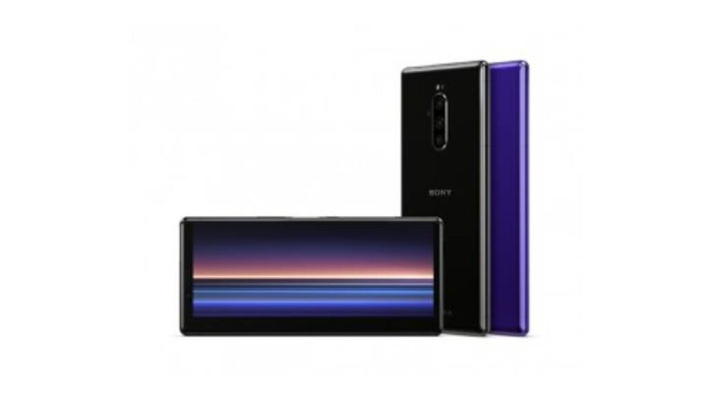 شكل هاتف Sony Xperia 1 II