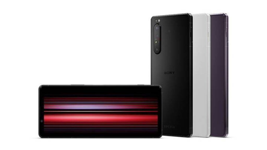 تصميم موبايل Sony Xperia 1 II
