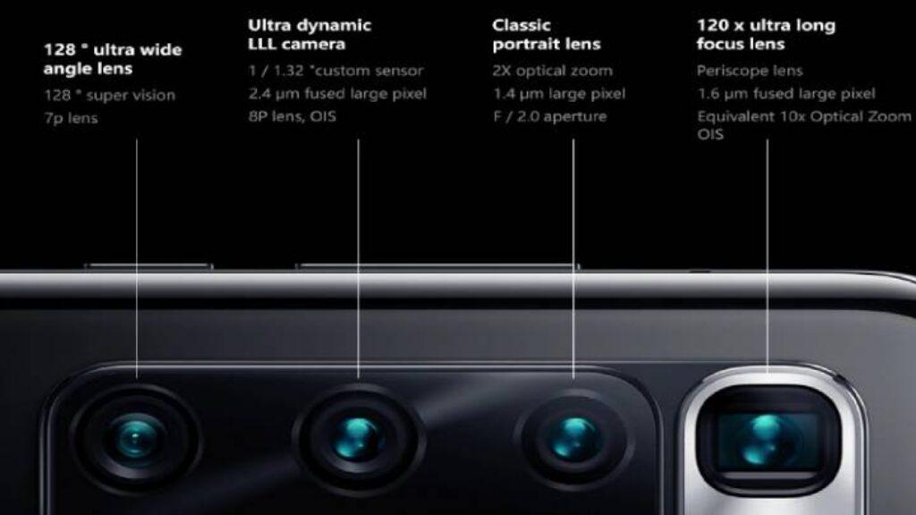 مواصفات الكاميرا الخلفية لموبايل Xiaomi Mi 10 Ultra