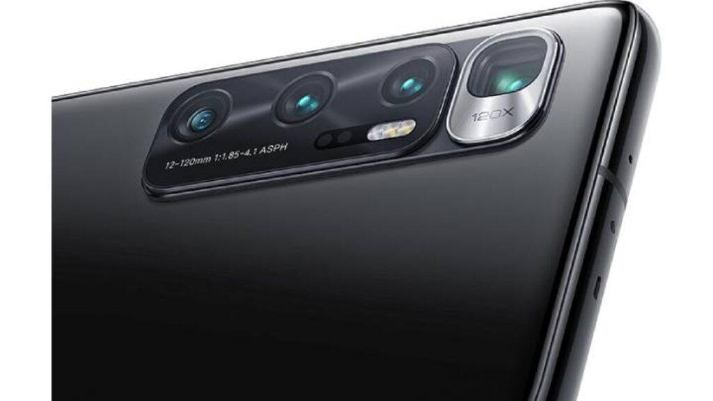 الكاميرا الخلفية لهاتف Xiaomi Mi 10 Ultra