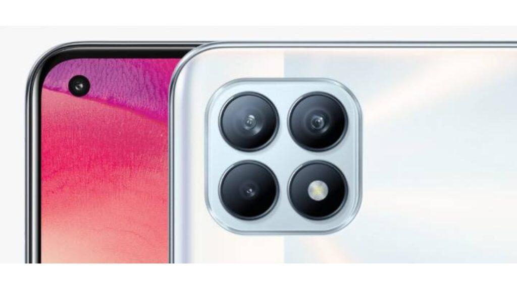 تصميم الكاميرا الخلفية وااامامية لجوال اوبو رينو4 سى