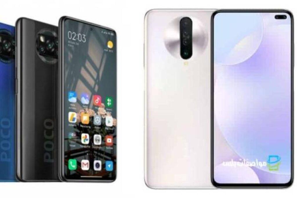 مقارنة السعر والمواصفات بين هاتف Xiaomi Poco X3 و Xiaomi Poco X2