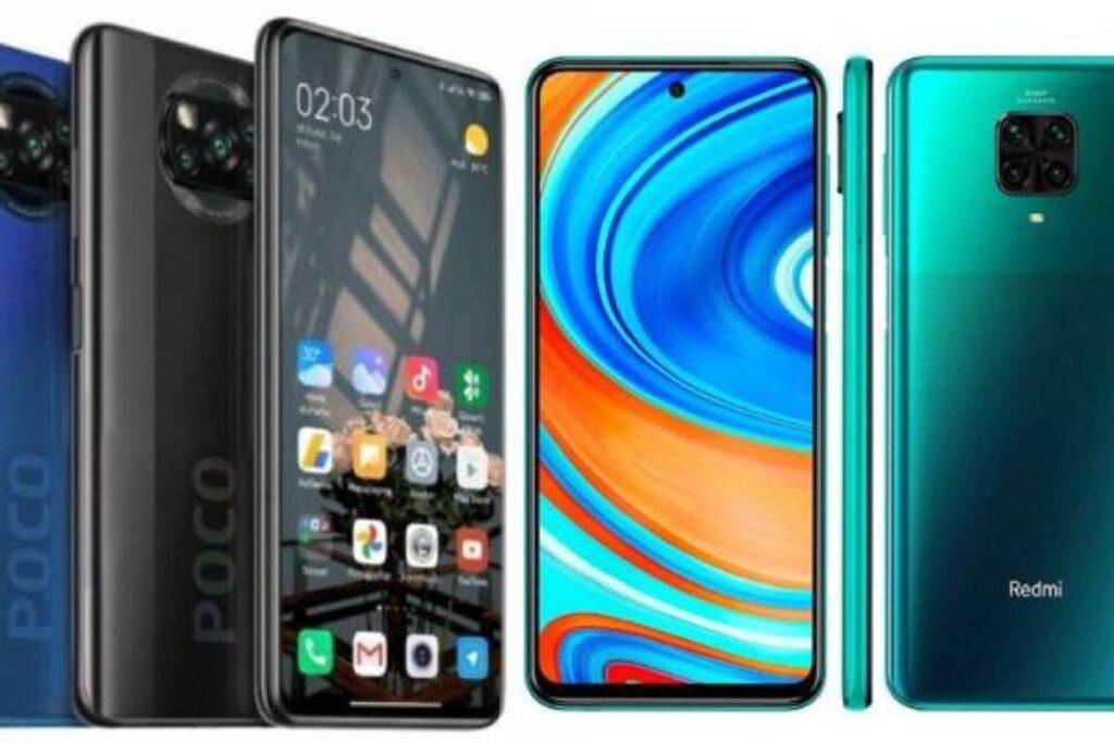 مقارنة السعر والمواصفات بين Xiaomi Poco X3 و Redmi Note 9 Pro - مواصفات بلس