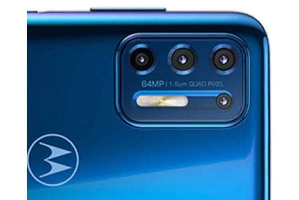 الكاميرا الخلفية لموبايل Motorola Moto G9 Plus