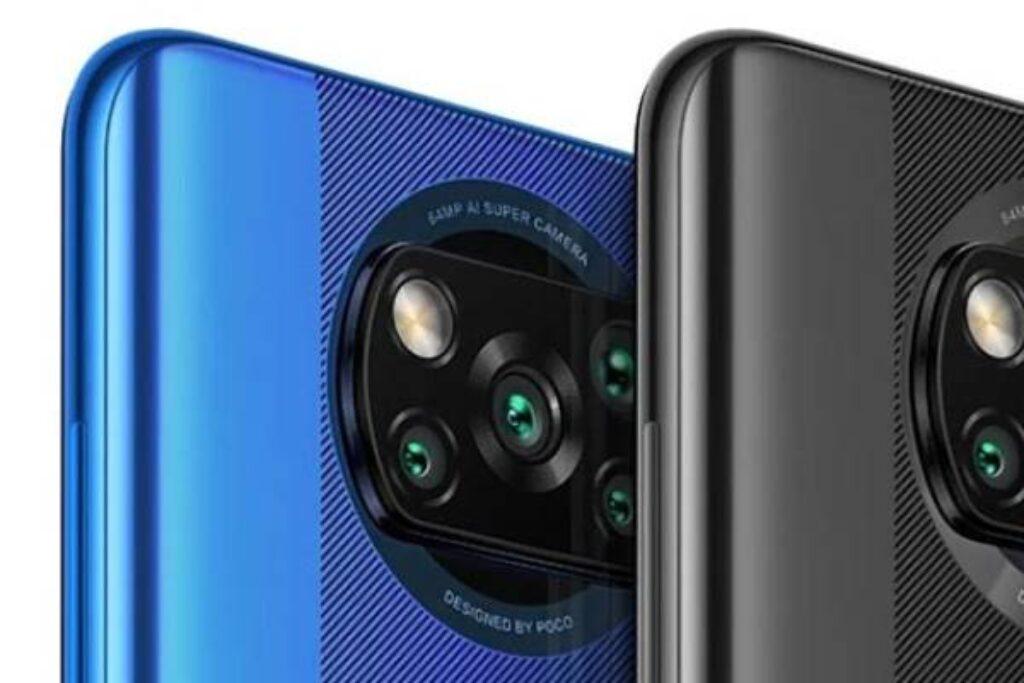 الكاميرا الخلفية لموبايل Xiaomi Poco X3