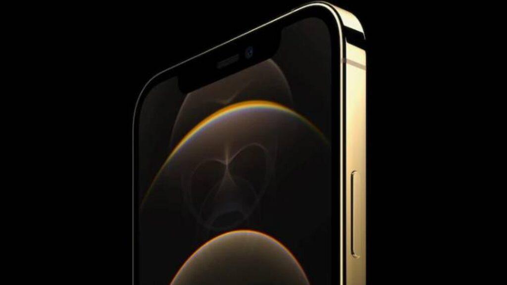 الكاميرا الامامية للتليفون Iphone 12 Pro Max