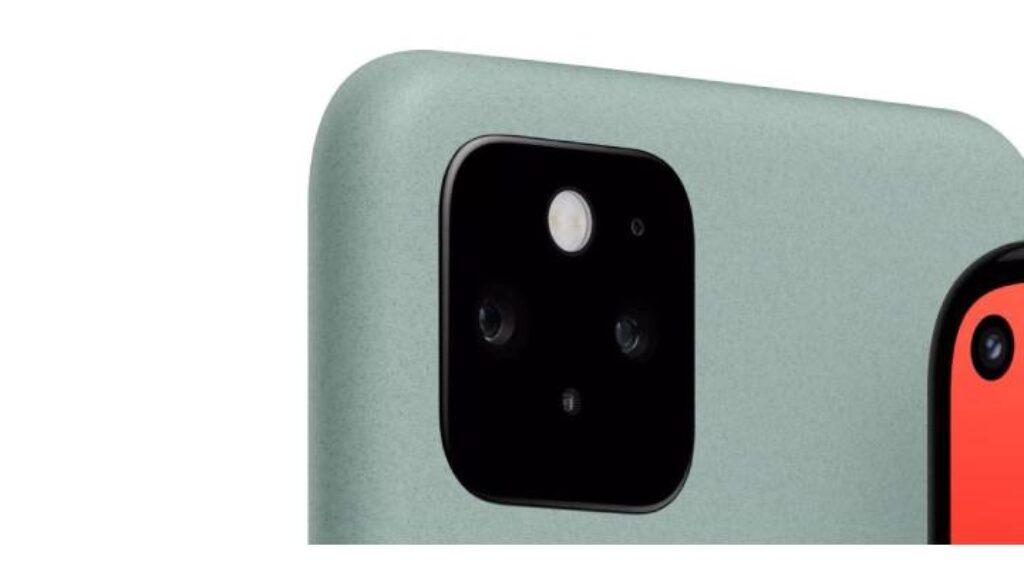 تصميم الكامير الخلفية والامامية لموبايل جوجل بيكسل 5