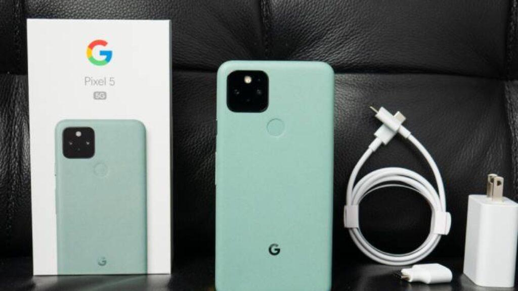 محتويات علبة جوجل بيكسل 5