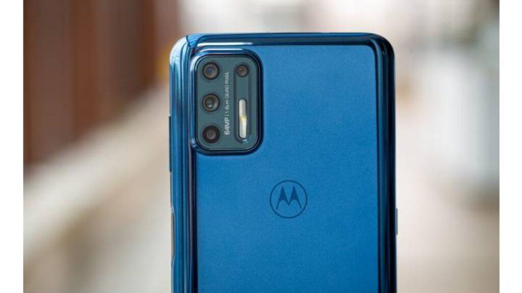 الكاميرا الخلفية للجهاز Motorola Moto G 9 Plus