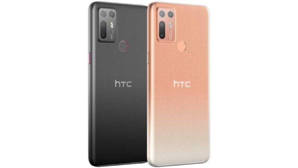 تصميم جوال HTC Desire 20 Plus من الظهر