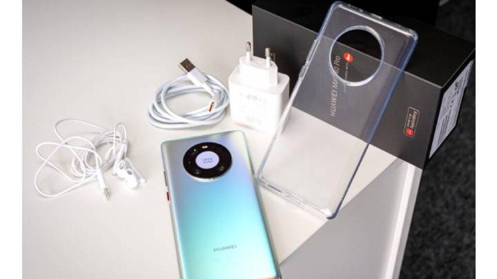 محتويات علبة Huawei Mate 40 Pro
