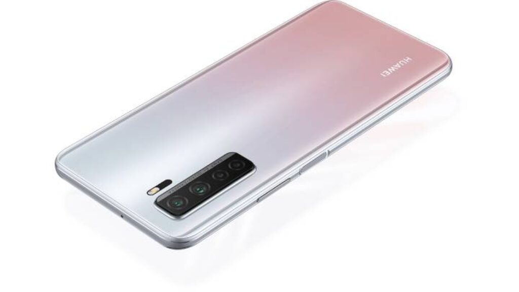 تصميم هاتف Huawei nova 7 SE 5G Youth من الظهر