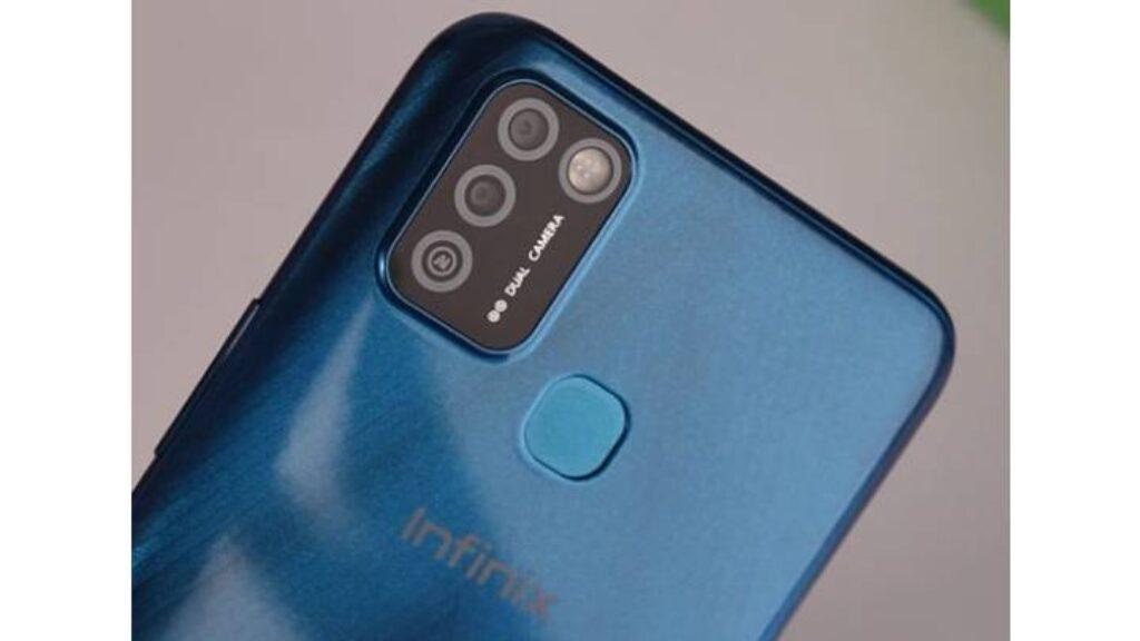 تصميم الكاميرا الخلفية Infinix Smart 5