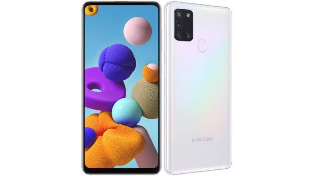 تصميم Samsung Galaxy A21s