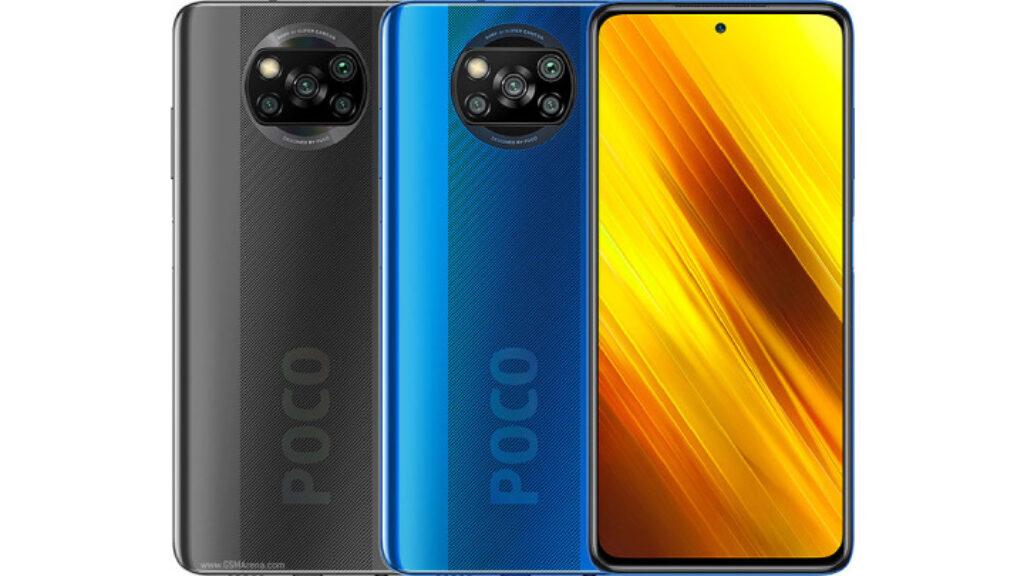 تصميم موبايل Xiaomi Poco X3