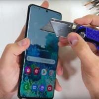 فيديو اختبار خدش وتحمل ومتانة هاتف Samsung Galaxy S20 Ultra